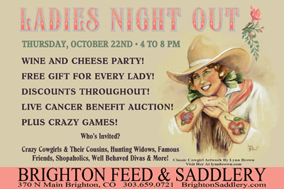 Brighton Saddlery Ladies Night Out
