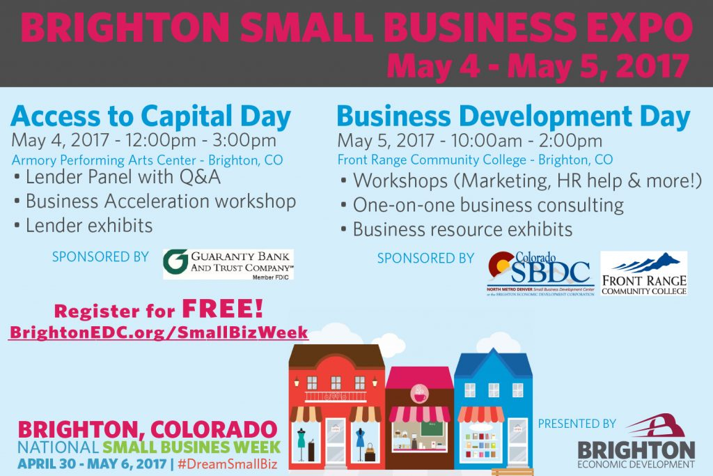 Brighton Small Business Expo Access to Capital Day - The