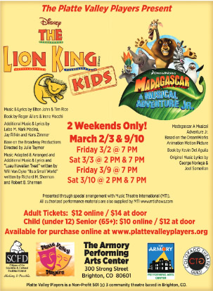 The Lion King Kids The Brighton Buzz