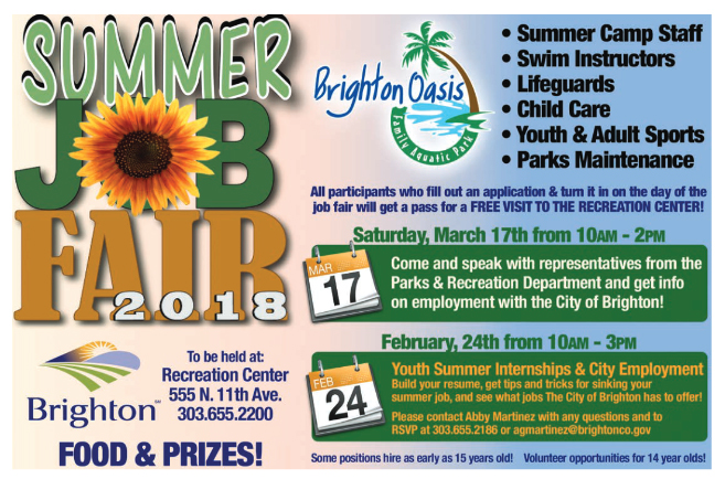 Summer Job Fair Youth Summer Internships The Brighton Buzz
