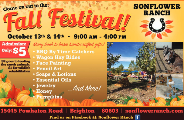 Sonflower Ranch Fall Festival