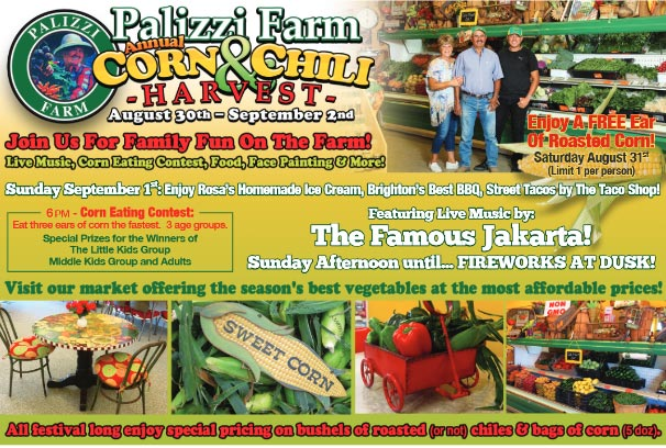 Palizzi Farm Corn & Chili Festival