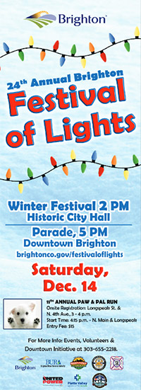 24th Annual Festival of Lights | City of Brighton