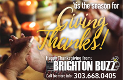 Give Thanks | The Brighton Buzz