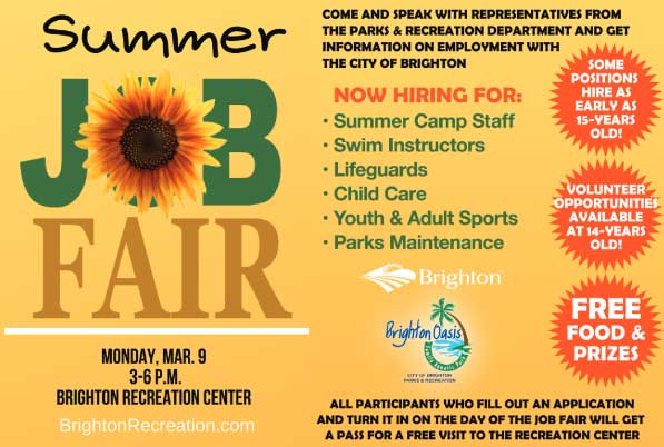 Summer Job Fair 2020
